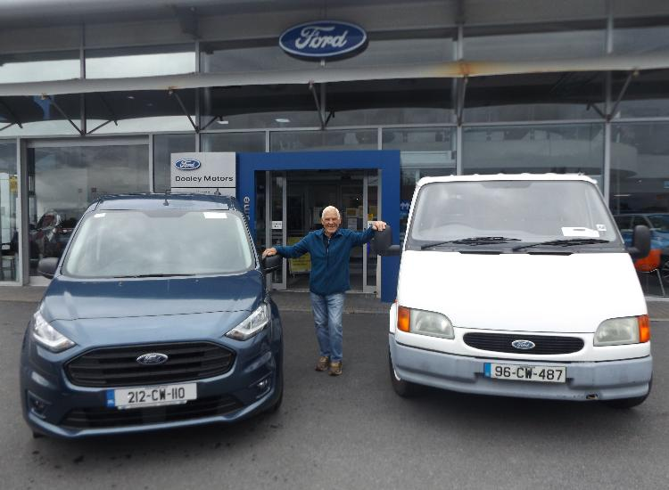 Longstanding Friends and Customers Collect Their Brand New Transit